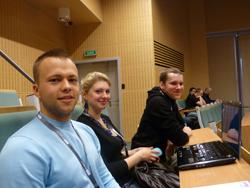 Bartek, Karolina i Maciek